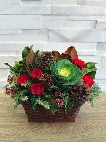 Warm Wishes Christmas Arrangement