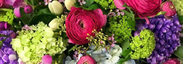 colourful bouquet - Pickering Flower shops
