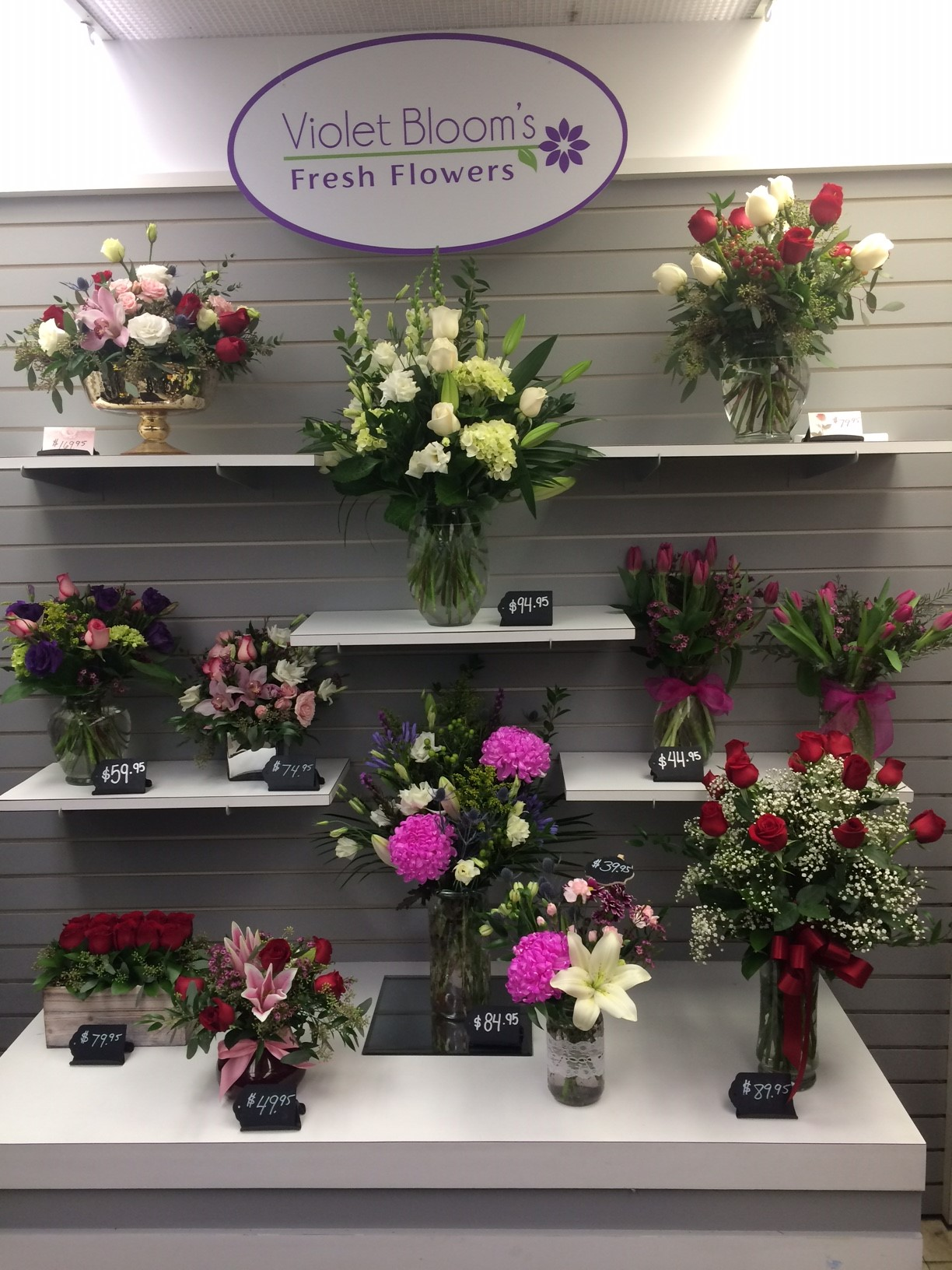 about us violet blooms fresh flowers pickering flower shop