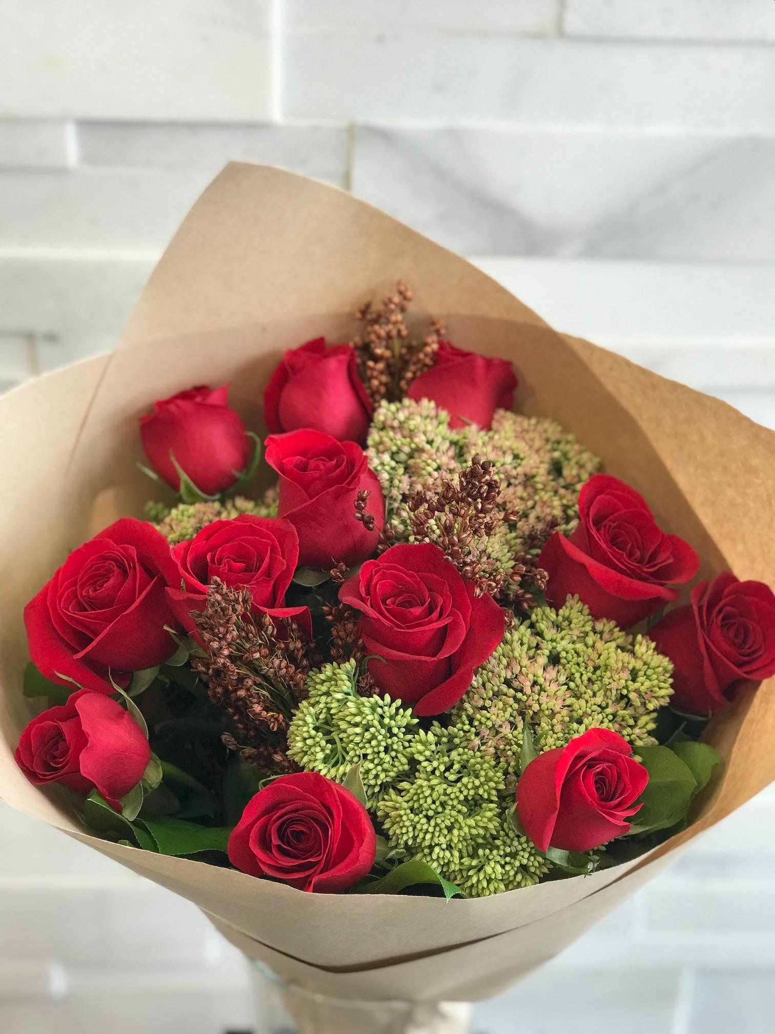Autumn Rosey Bouquet