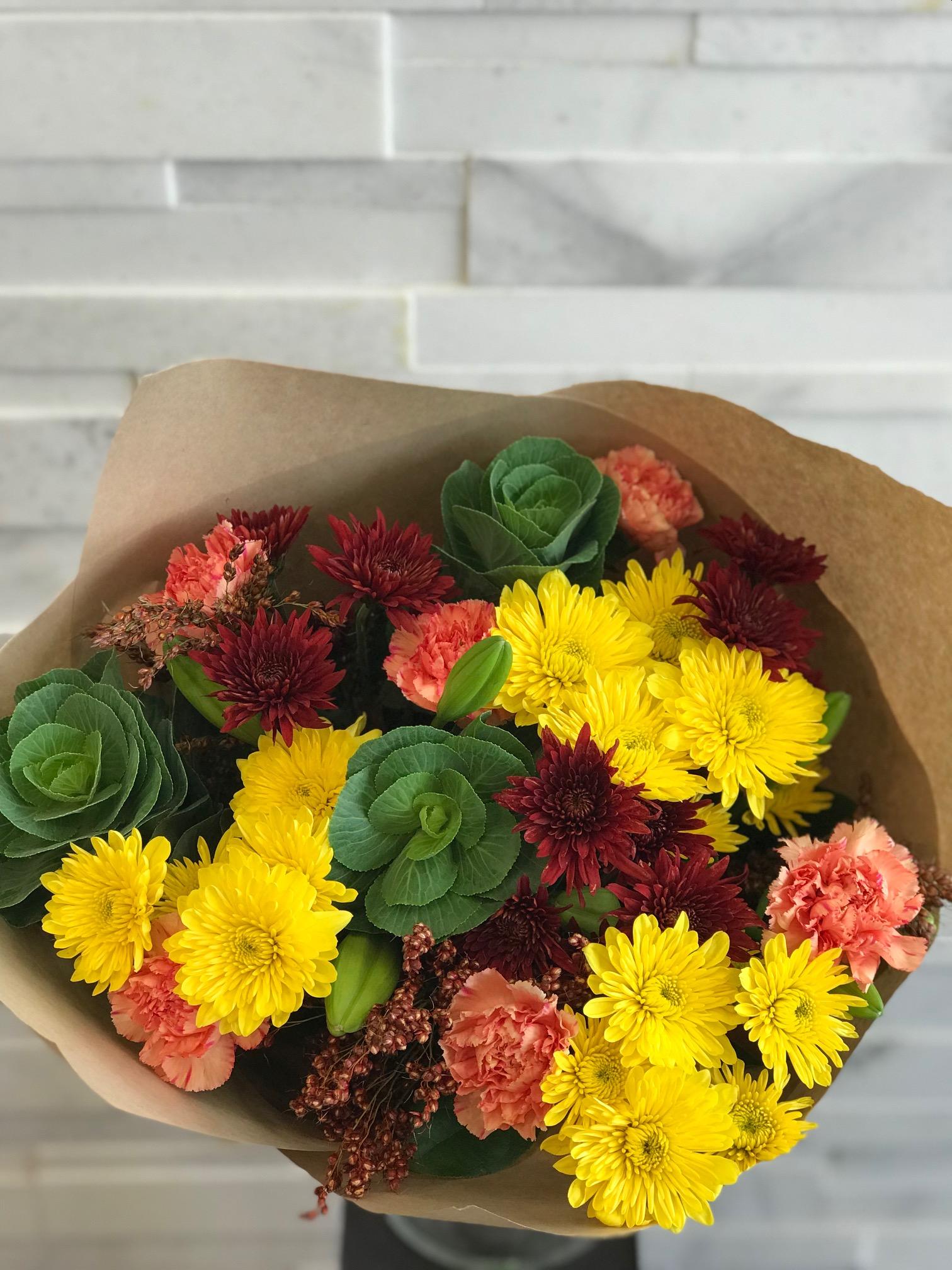 Fall Bounty Bouquet
