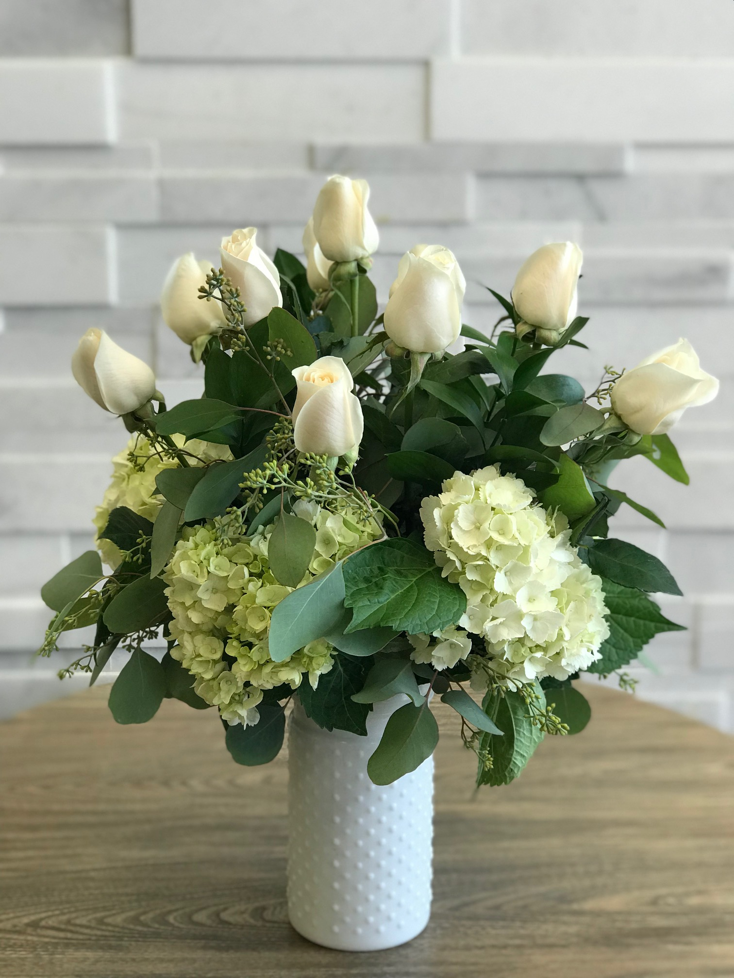 Purest Love Rose Arrangement