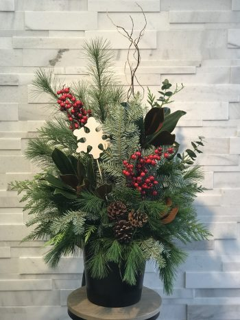 Deck the Halls Christmas Arrangement
