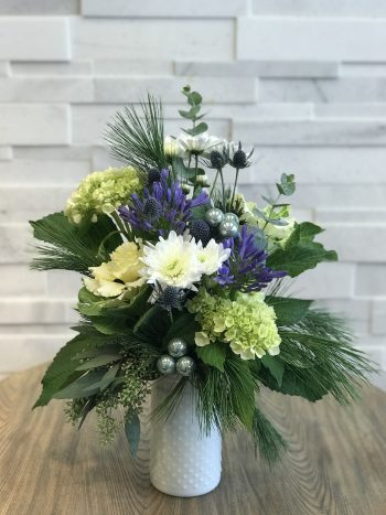 Jack Frost Winter Floral Arrangement
