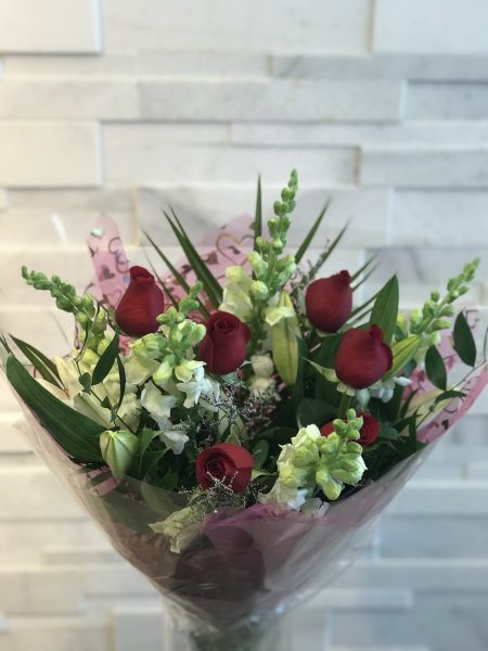 Snap-Lily-Rose Bouquet