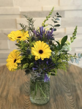 O Happy Day Floral Spring Arrangement