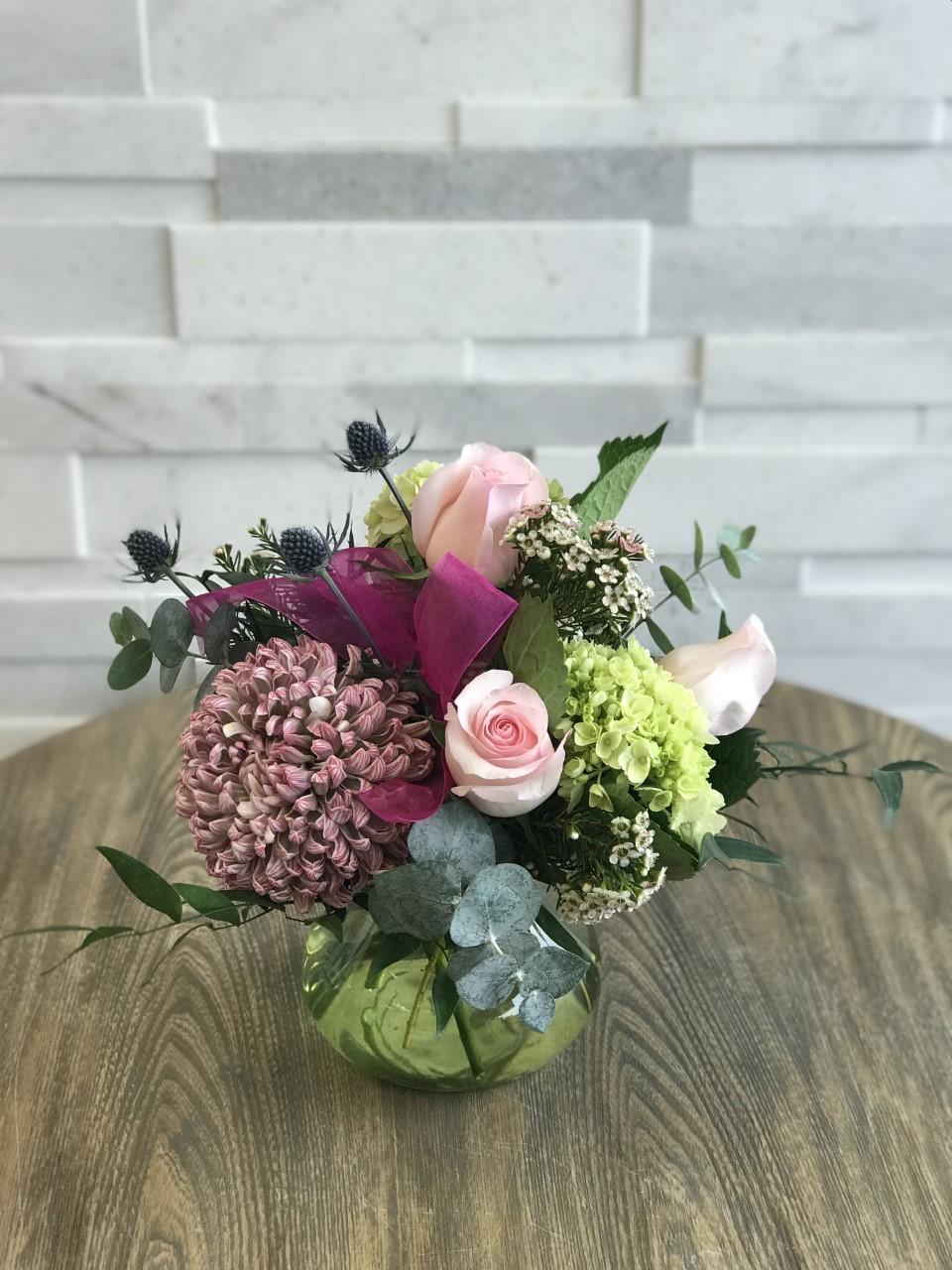 Serene Blossoms Arrangement